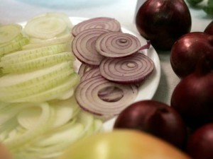 Ceptu sīpolu salāti