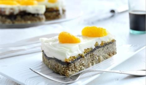 Lieldienu kūka ar mandarīnu panna cotta