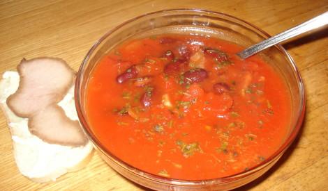 Diētiskā tomātu zupa