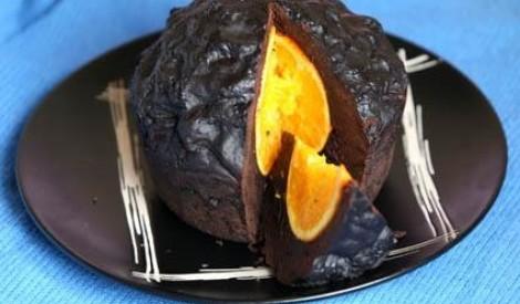 Šokolādes pudiņš ar apelsīnu
