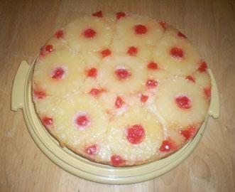 Ananasu kūka (bez olām)