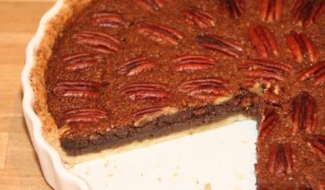 Pecan pie (pekanriekstu kūka)