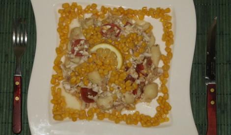 Tunča salati ar makaroniem 2