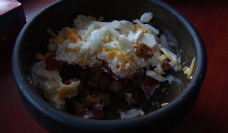 Latgales - angļu salāti
