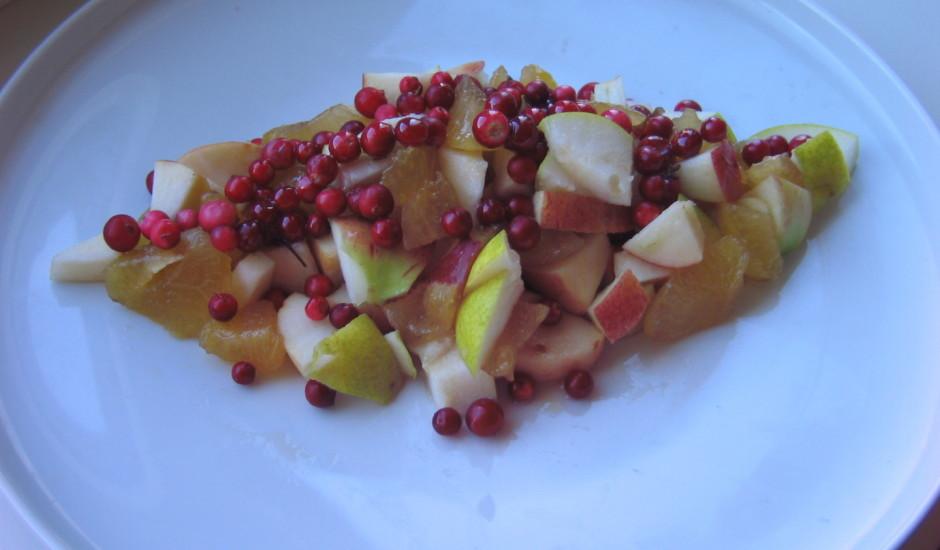 Rudens augļu salāti