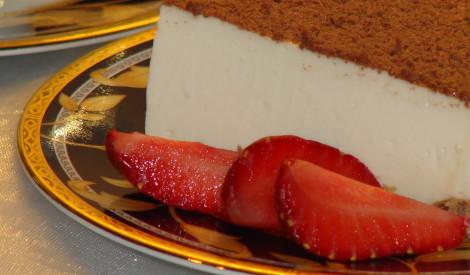 Gardā filadelfijas siera kūka