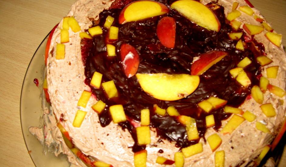 Biezpiena sieriņa torte