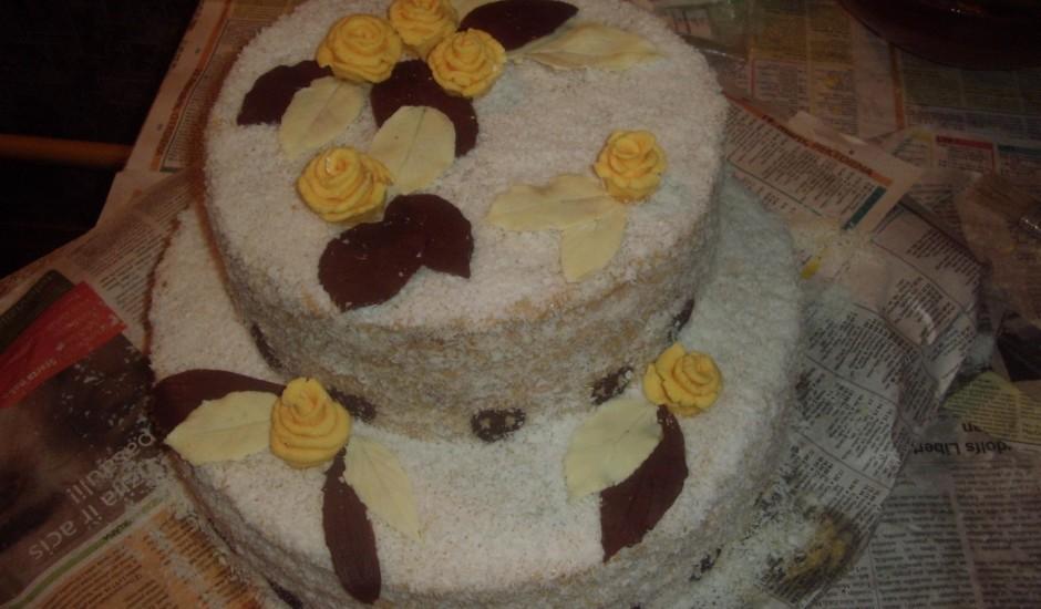 Karaliskā kāzu torte