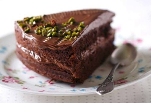 Gardā šokolādes kūka