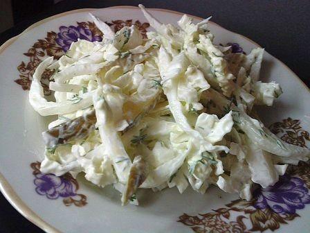 Pekinas kāpostu salāti