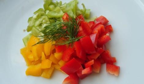 Salātu buķete