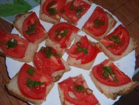 Gardās tomāt maizītes