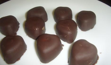 Šokolādes končas