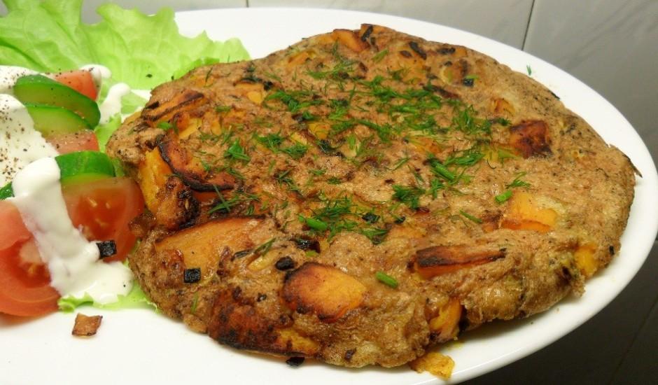 Ķirbja omlete
