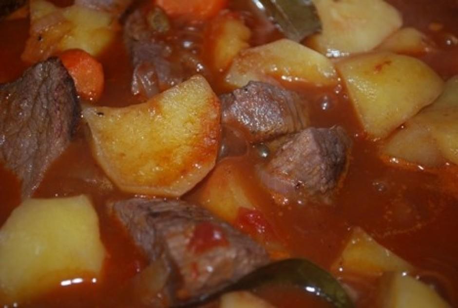 galvenais šajā ēdienā laikam ir tas, lai gaļa būtu mīksta, t...