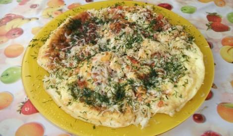 Sātīgā brīvdienu omlete