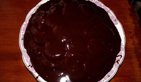 """Krējuma-šokolādes torte """"bruņurupucis"""""""