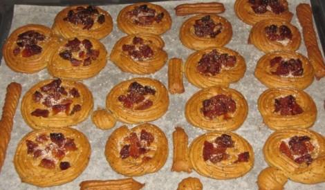 Magoņu cepumi ar aprikozēm