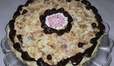 Banānu un kokosriekstu kūka