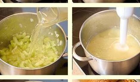Gurķu zupa ar kūpinātu lasi