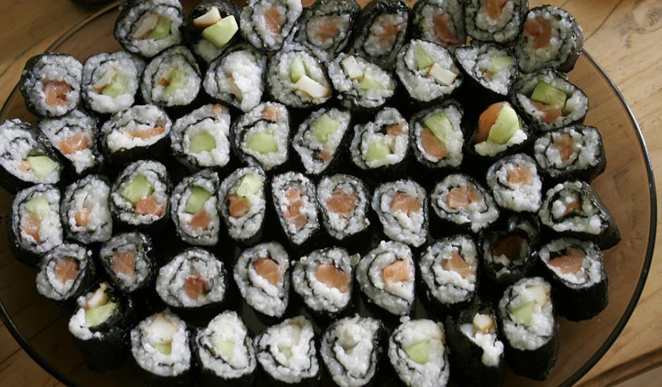 Mājas sushi