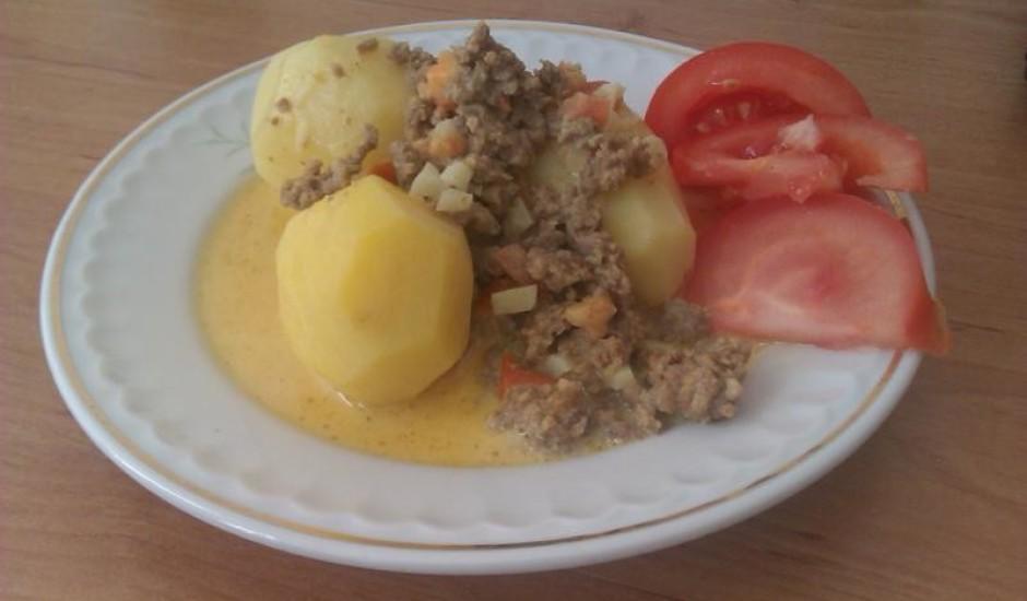 Maltās gaļas mērce-ātri un garšīgi