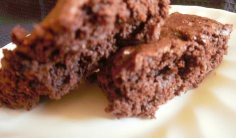 Šokolādes kēksiņi ar kafijas granulām