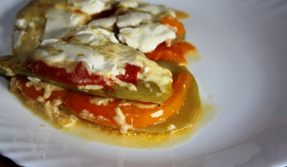 Kabaču/siera sacepums