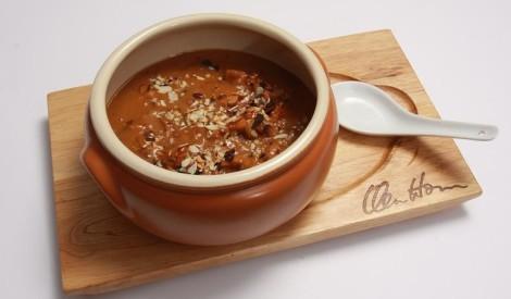Taizemiešu kokospiena zupa