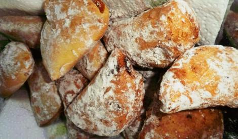 Azevias (portugāļu ķirbju kabatiņas)