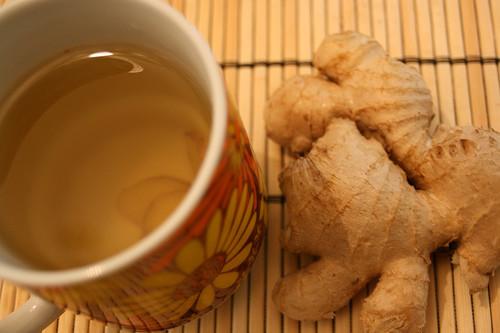 Ingvera-citronu tēja
