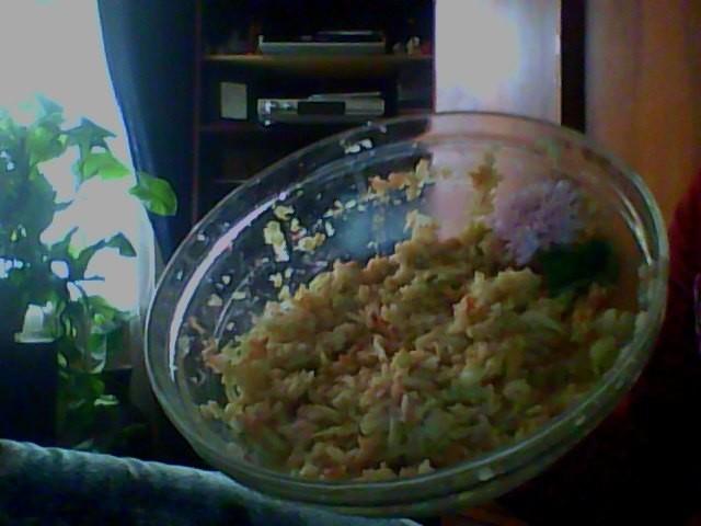 Paštaisītie ābolu salāti ar selgas cepumiem