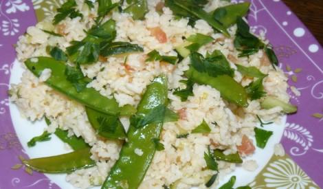 Krāsainie pavasara rīsi