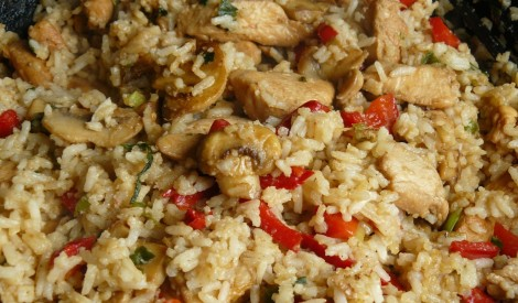 Cepti rīsi ķīniešu gaumē
