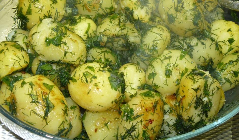 Zaļie kartupeļi