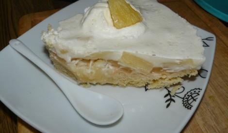 Ananasu un kokosa torte