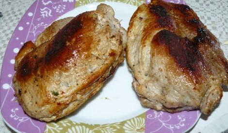 Karbonādes pildītas ar maizi
