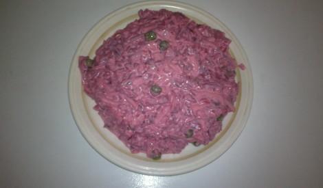 Biešu - siera salāti