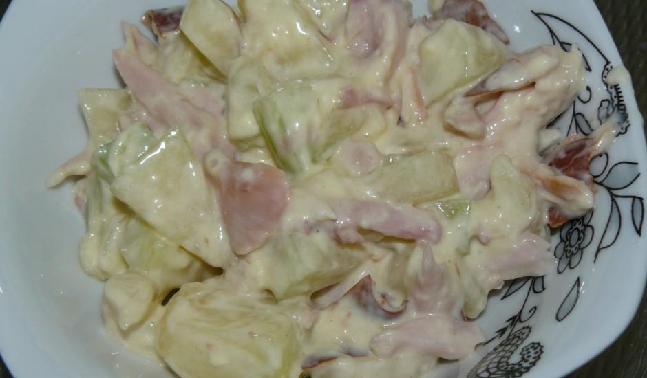 Vistu un meloņu salāti