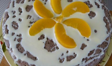 Kakao un riekstu torte
