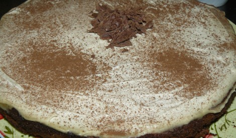 Šokolādes un siera torte