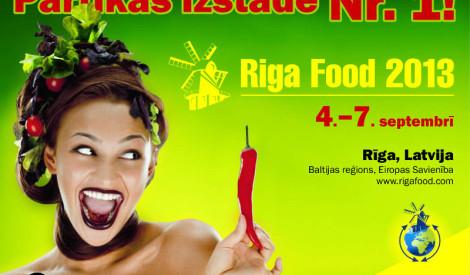 Receptes.lv šefpavārs Grāpītis iesaka doties uz Riga Food 2013