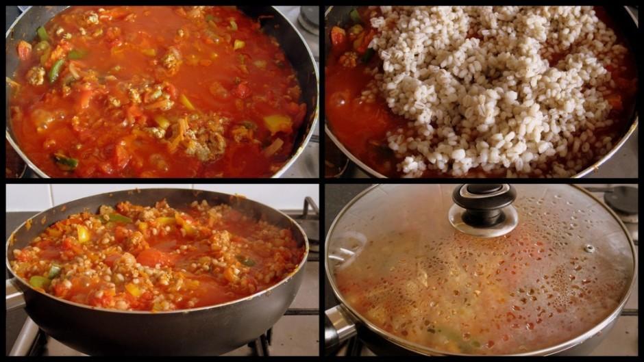 Pievieno garšvielas pēc savas garšas, pievieno tomātus savā...