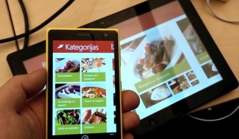 Jaunums Latvijā – Receptes.lv aplikācijas padarīs ēdienu gatavošanu vēl aizraujošāku un iepirkšanos vēl ērtāku!