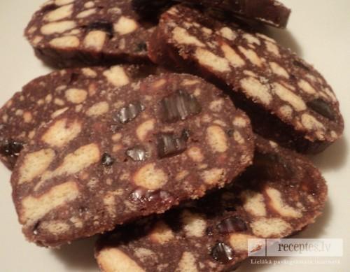 Saldā šokolādes desa jeb saldā brunete
