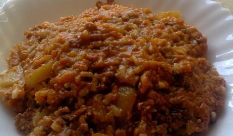 Maltās gaļas un paprikas sautējums