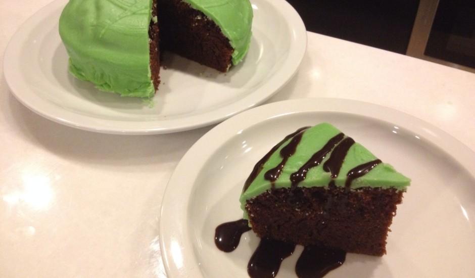 Vienkāršā kakao kūka