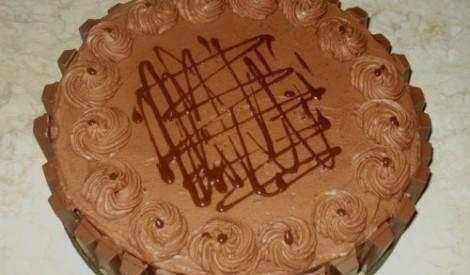 Kit kat šokolādes torte