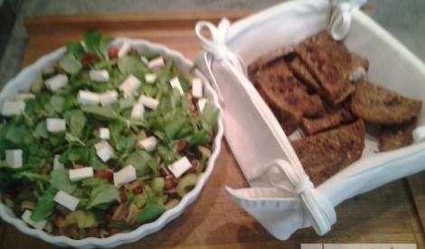 """Dārzeņu salāti ar turku zirņiem """"eksplozija"""""""