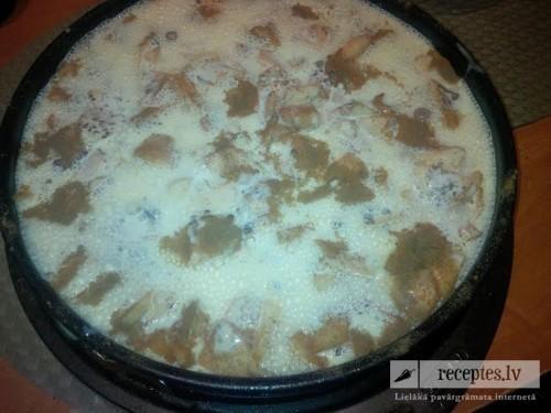 Tradicionālā kefīra ābolmaize